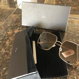 Brand new Dior sunglasses with tag and box